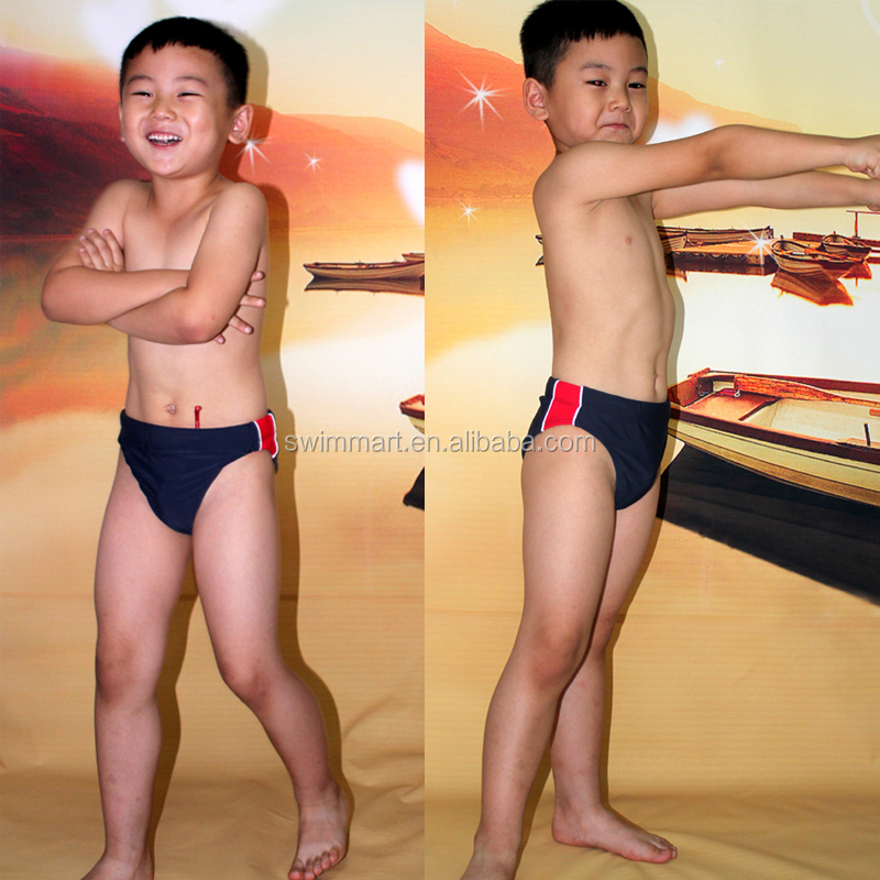 2015 Cute Boy models kids swimsuit
