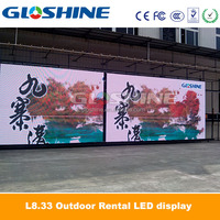 round led display/led display android tablet/led car rear window digital display