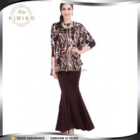 Wholesale Muslim Wear Plus Size Baju Kurung Fashion Design