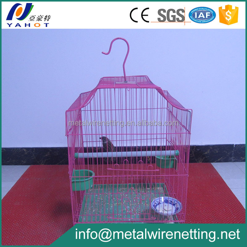 Chinese Cheap PVC Coated Canary Bird Cage