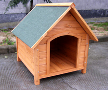 Apex Roof Pet Outdoor Wooden Dog House/kennel