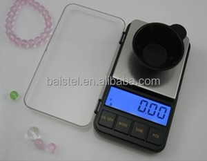 LCD display weighing easier electronic min pocket scale for low power indicator