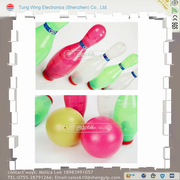 tenpins,bowling pin toy,sport game,plastic bowling pins toy