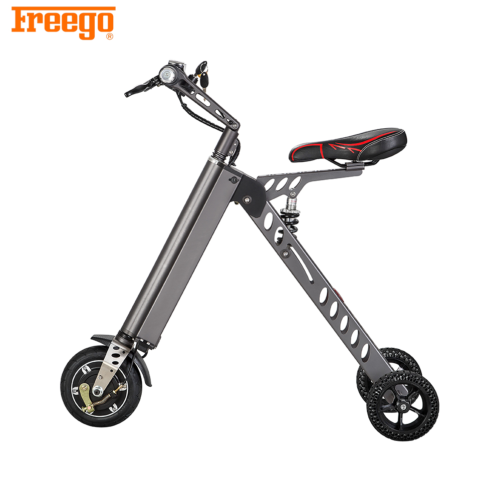 Freego Green electric city bike /36v 250w folding ebike/mini folded electric bicycle
