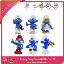 2017 OEM Promotional Smurf Toys for Kids