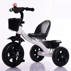 Factory Ride on car metal child tricycle / foldable baby tricycle toy / simple kids trike for 2-6 years old