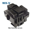 PA6-GF10 male female wire hose plug relay box 5 pin DJJ7052-6.3-21