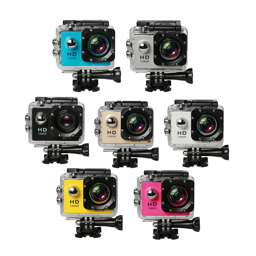WIFI Action Camera Waterproof 30M Camera 1080P Sport DV DV-15