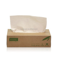 Natural Unbleached Bamboo Facial Tissue
