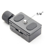 1/4 Quick Release QR Plate Clamp Adapter Mount 30MM For Camera Tripod Ball Head