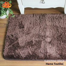 Washable Anti Skid Floor Raw Material Thick Pile Rug Carpet for Living Room