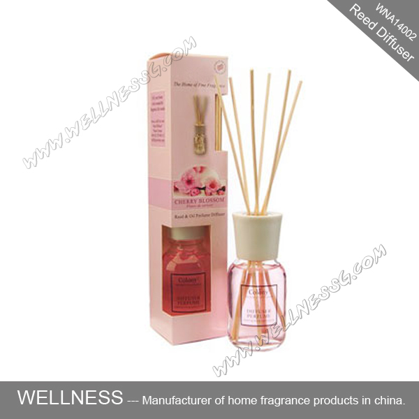 fragrance reed diffuser set with nature ratten sticks