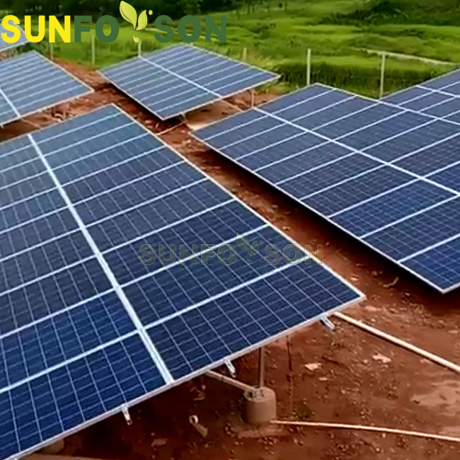 Aluminum pv ground mounted solar panel frames/ support/ structure/ racking