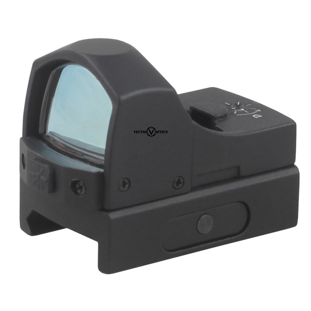 Vector Optics Sphinx 1x22 Compact reflex Green Dot Sight Scope 5 Levels 3 MOA for Glock 1911 AR AR15 Pistol Hunting Shooting
