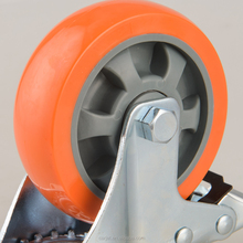 The supplier for low profile PU caster wheel