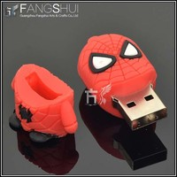 cheap pvc usb flash drives keychain /China wholesale pvc animal usb flash drive