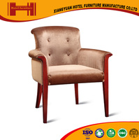 factory custom brown teak wood soft sex lounge inflatable cheap wedding chair