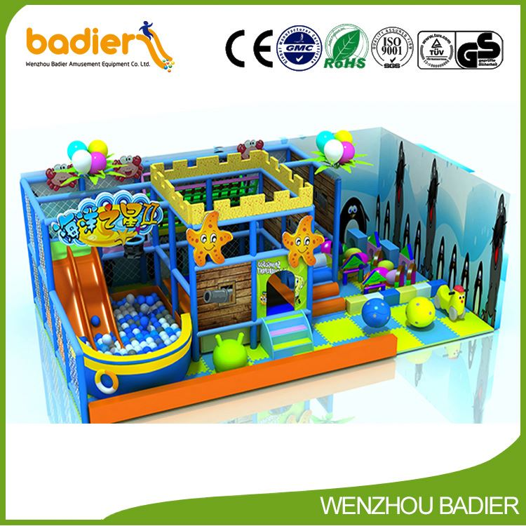 Best selling superior quality jungle theme kids indoor playground with different size