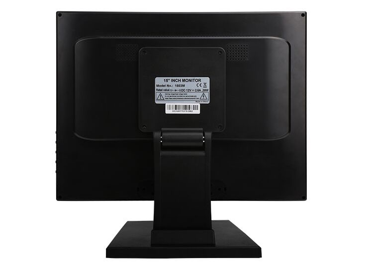 Top quality 15 inch POS Touch Screen Monitor with VGA HD DC12V Factory