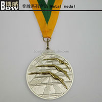 Sport Medal Souvenir Medal With Ribbon