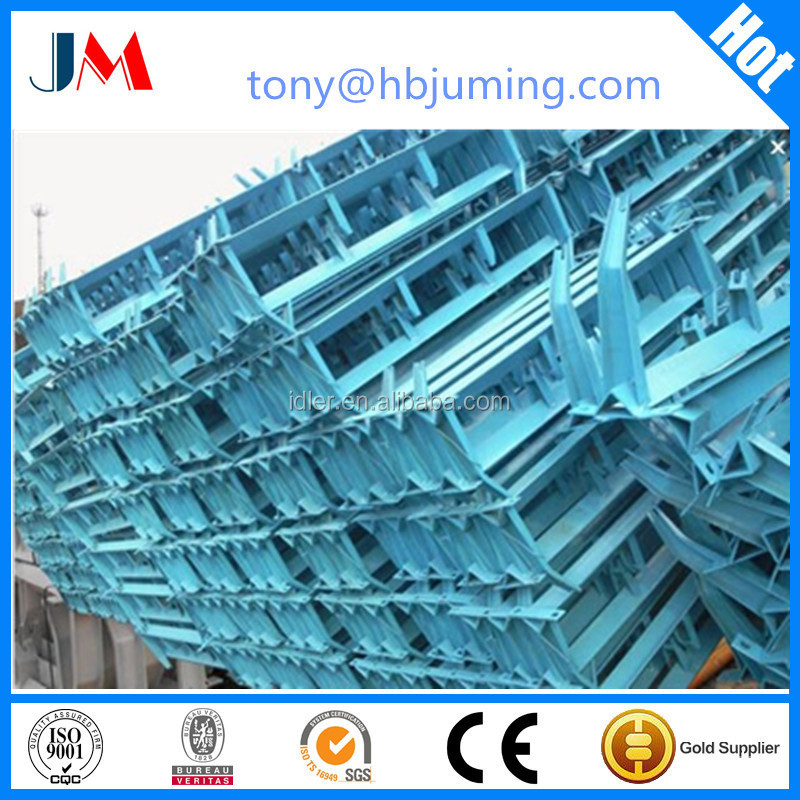 China latest technology belt conveyor frame