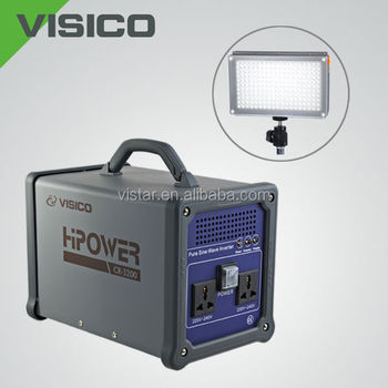 Photography Equipment power pack for outdoor location shooting