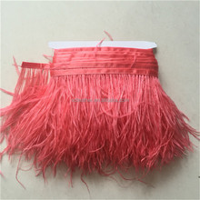 13-15cm Ostrich Feather Trimmings Garment Accessories and Trims