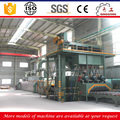 steel slab roller conveyor shot blasting machine/shot blaster for sale