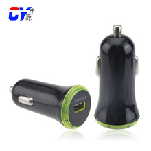 Green Led light car charger universal car charger OEM/ODM car charger Charging