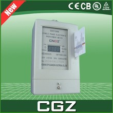 10A 80A pay rental housing household high precision single-phase watt hour meter
