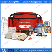 OP hot sale FDA ISO CE approved oem wholesale nylon travel outdoor sport first aid kit set