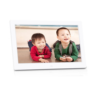 Hot sale 10 inch digital photo frame with Remote Controller