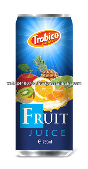 Natural Mixed Fruit Juice from Trobico Brand