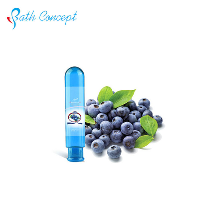 Fruit scent natural water based personal sex lubricant