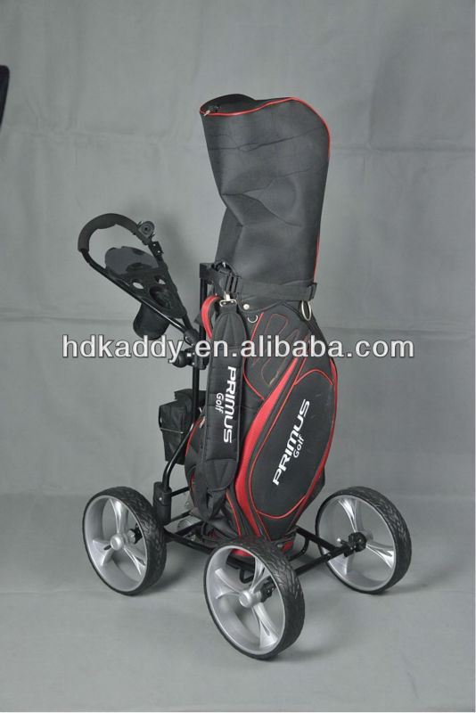2014 Brand new electric four wheels golf trolley-E-Upright Caddy
