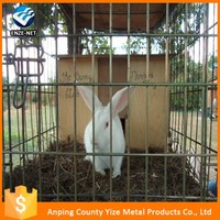 Galvanized low carbon steel breeding rabbit meat cage