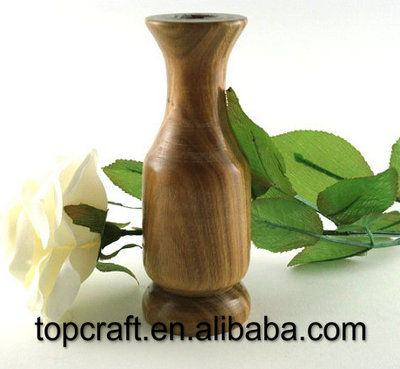 Bud Vase turned from wood