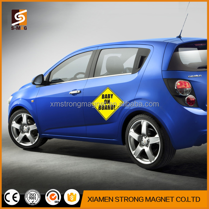 Cheap digital printing advertising printing custom car magnets