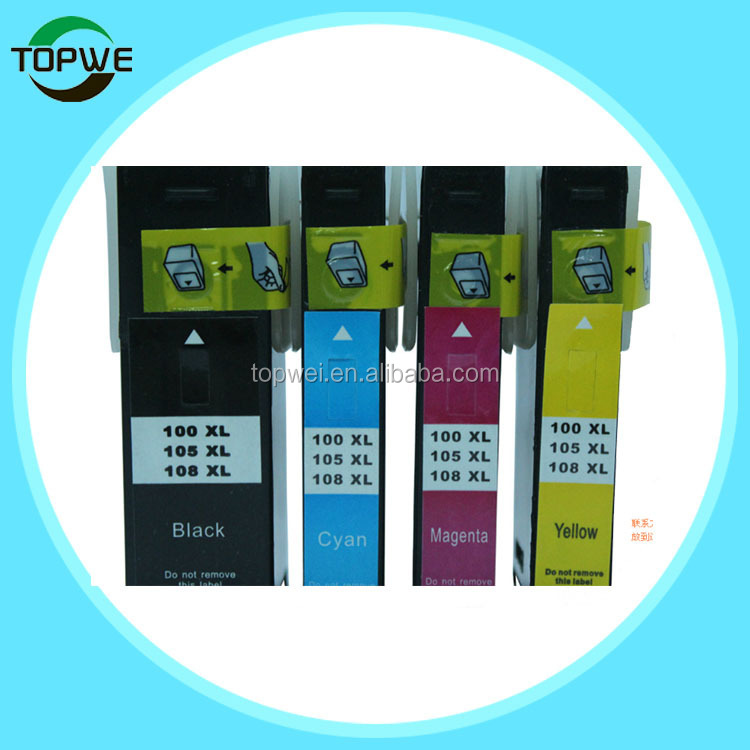 Factory price ! Compatible ink cartridge for LM100/LM105/LM108 for LM S405/S505/S605 printer