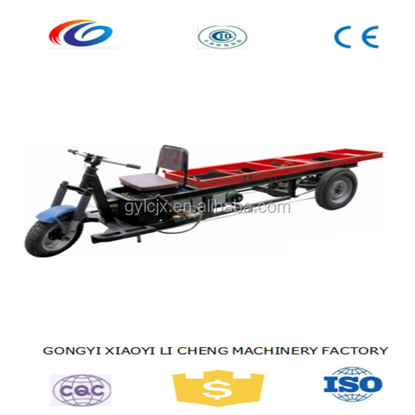 energy-saving battery operated three wheel vehicle for brick/batttery powered tricycle for brick