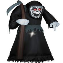 Inflatable animated reaper /inflatables halloween decoration