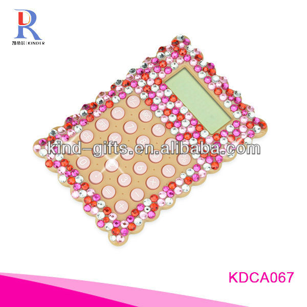 Customer Design Rhinestone Diamond Promotional Menstrual Cycle Calculator Manufactory|Factory|Exporter