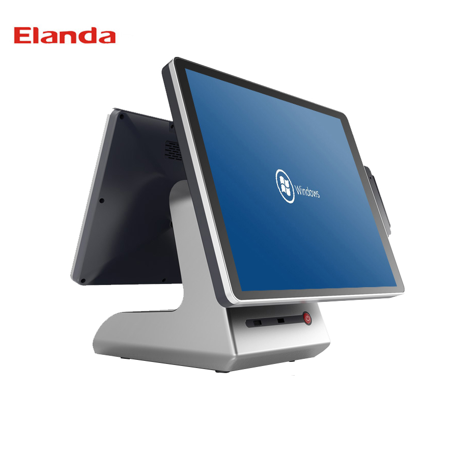 Windows pos terminal 15.6 inch point of sales system terminal touch screen pos terminal/elanda x200 touch screen