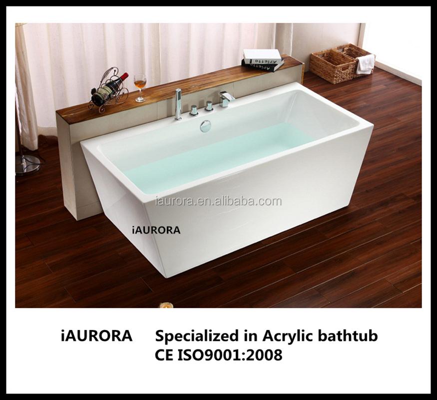 Bathtub acrylic freestanding portable bathtub for adults for Best acrylic bathtub to buy