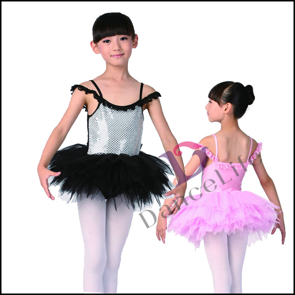 C2236 girls sequin tutu dress for kids ballet tutu dress