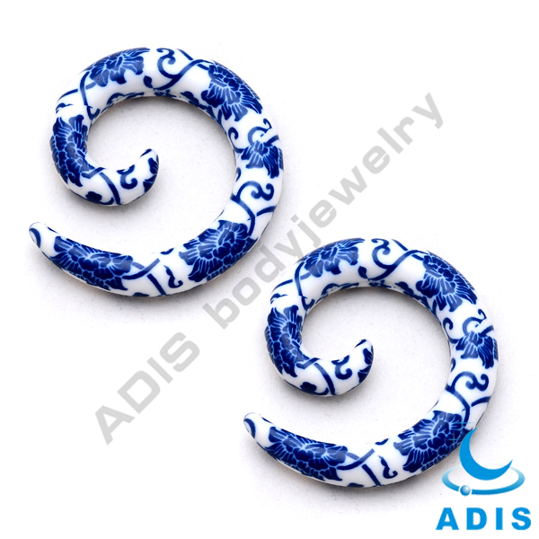 Acrylic ear gauges plugs,expander wholesale body jewelry factory