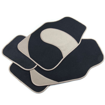 Set of 4-Piece Car Vehicle Floor Mat Set