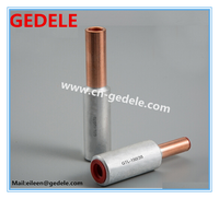 GTL Cu-Al connecting tube/copper aluminum terminal connector