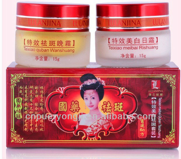 Chinese Traditional Lulanjina Skin Whitening Face Cream For Women