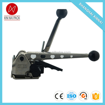 Top level new coming manual steel roll packing tool